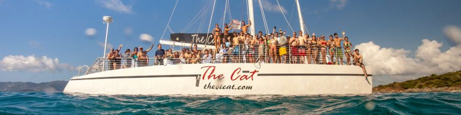 The VI Cat daily sailing & snorkeling excursions at Frenchman's Cove