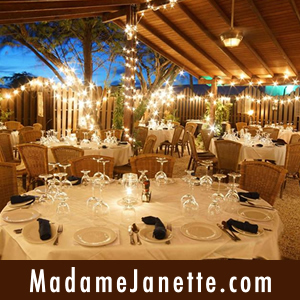 Madame Janette Aruba fine dining restaurant