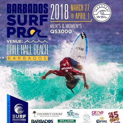 Barbados International Surfing Competition