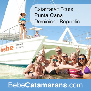 Catamaran Tours in Punta Cana, Dominical Republic