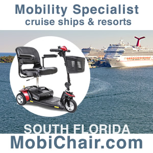 Cruise Ship & Resort Mobility Specialist