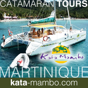 Catamaran Tours at Point du Bout in Martinique