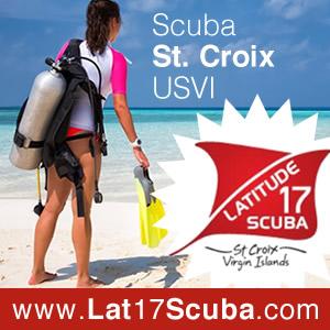 Latitude 17 Scuba Center in St. Croix