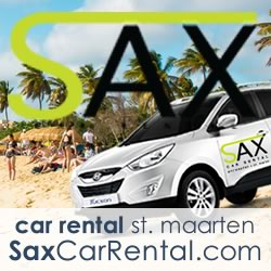 SAX - Car Rental - Rent a car in Sint Maarten, St. Martin, Netherlands Antilles.