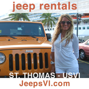 Jeep Rentals Saint Thomas USVI Virgin Islands