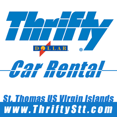 Dollar Thrifty Car Rentals in St. Thomas USVI Caribbean