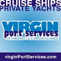 virgin port boat yacht cruise ship services st. thomas us virgin islands caribbean
