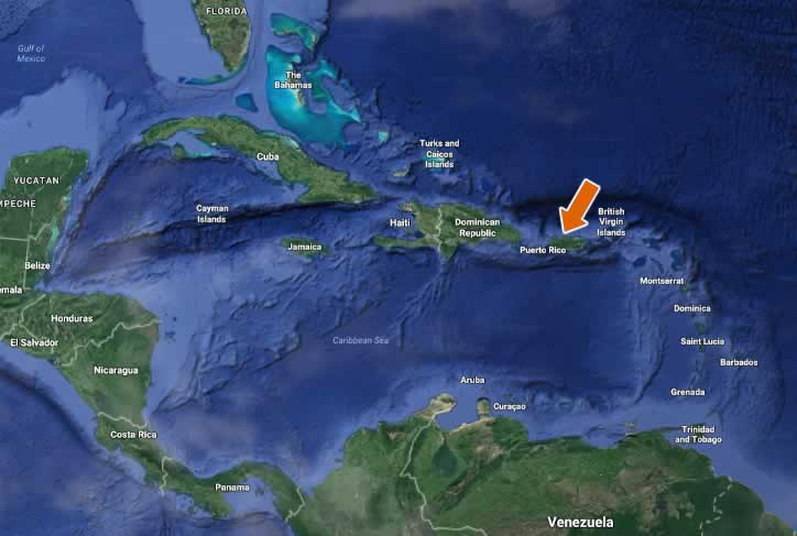 Puerto Rico Caribbean Island Directory